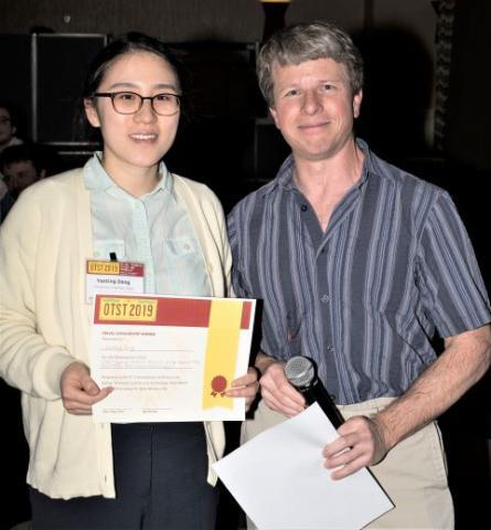 Yanting Deng and Prof. Dan Mittleman (Yale)